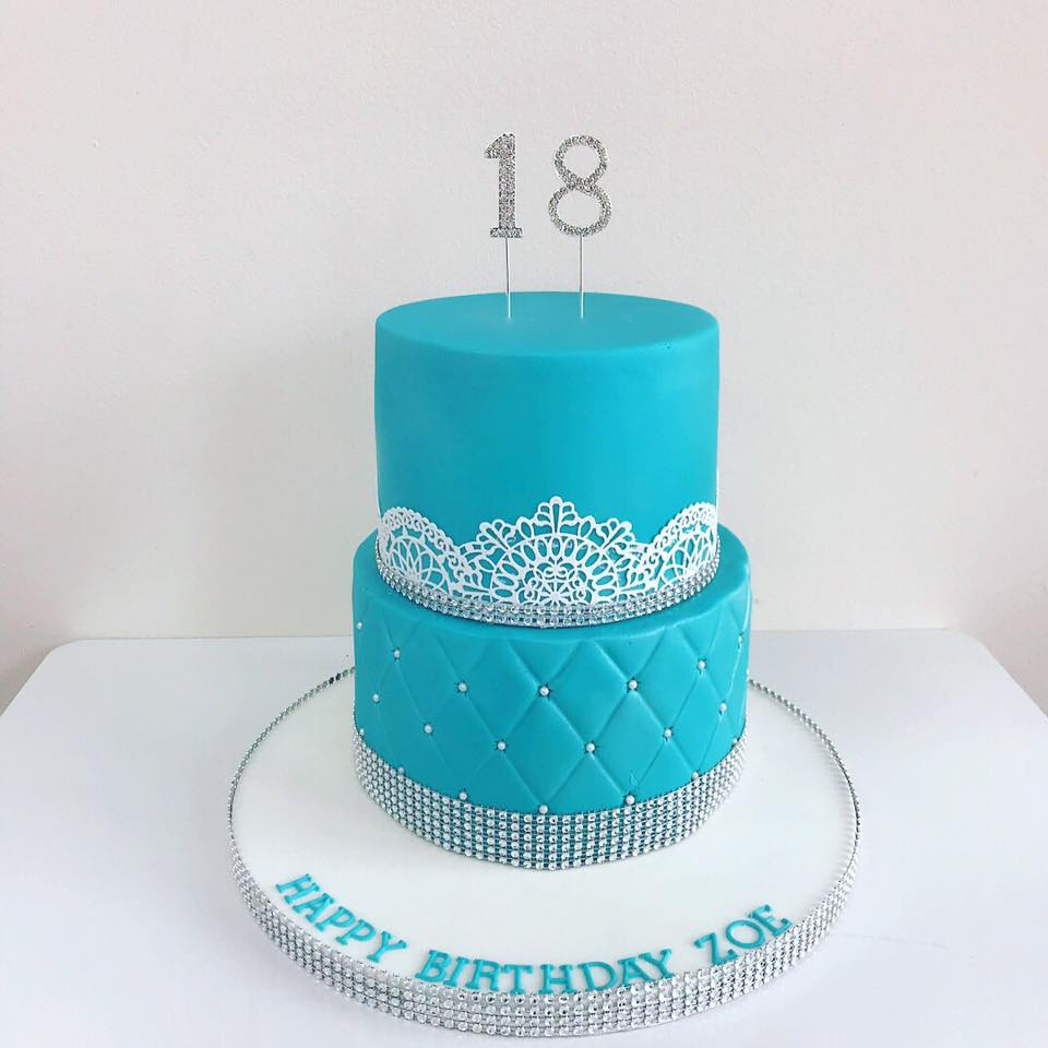 Fabulous 18Th Birthday Cake Luscious Lovelies Cakes Funny Birthday Cards Online Alyptdamsfinfo