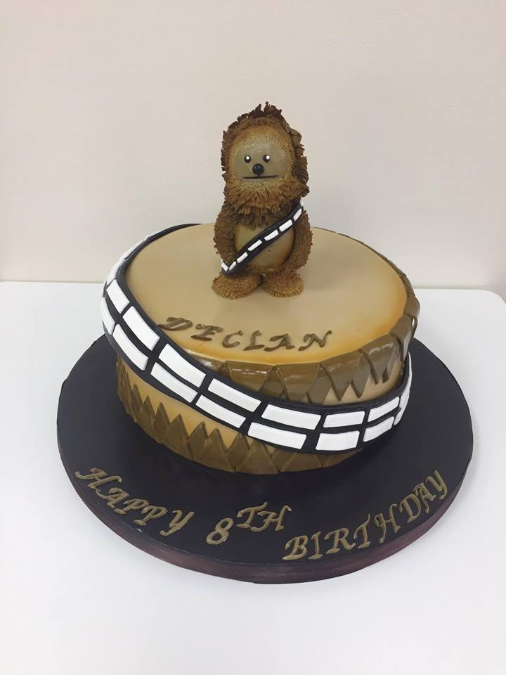 Chewbacca Birthday Cake Luscious Lovelies Cakes