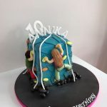 Climbing Wall Birthday Cake