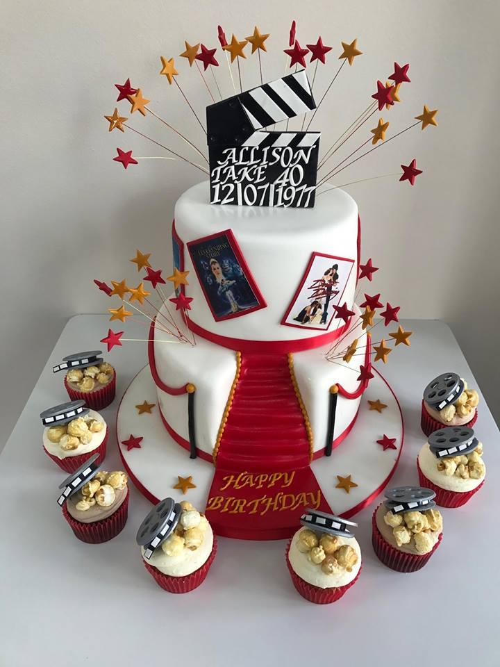 Outstanding Movie Theme Birthday Cake Luscious Lovelies Cakes Funny Birthday Cards Online Alyptdamsfinfo