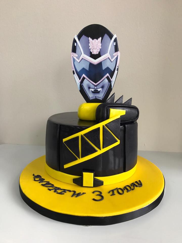 Remarkable Power Ranger Birthday Cake Luscious Lovelies Cakes Birthday Cards Printable Opercafe Filternl