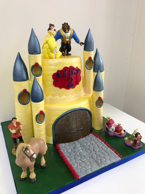 Miraculous Belles Castle Novelty Birthday Cake Luscious Lovelies Cakes Funny Birthday Cards Online Alyptdamsfinfo