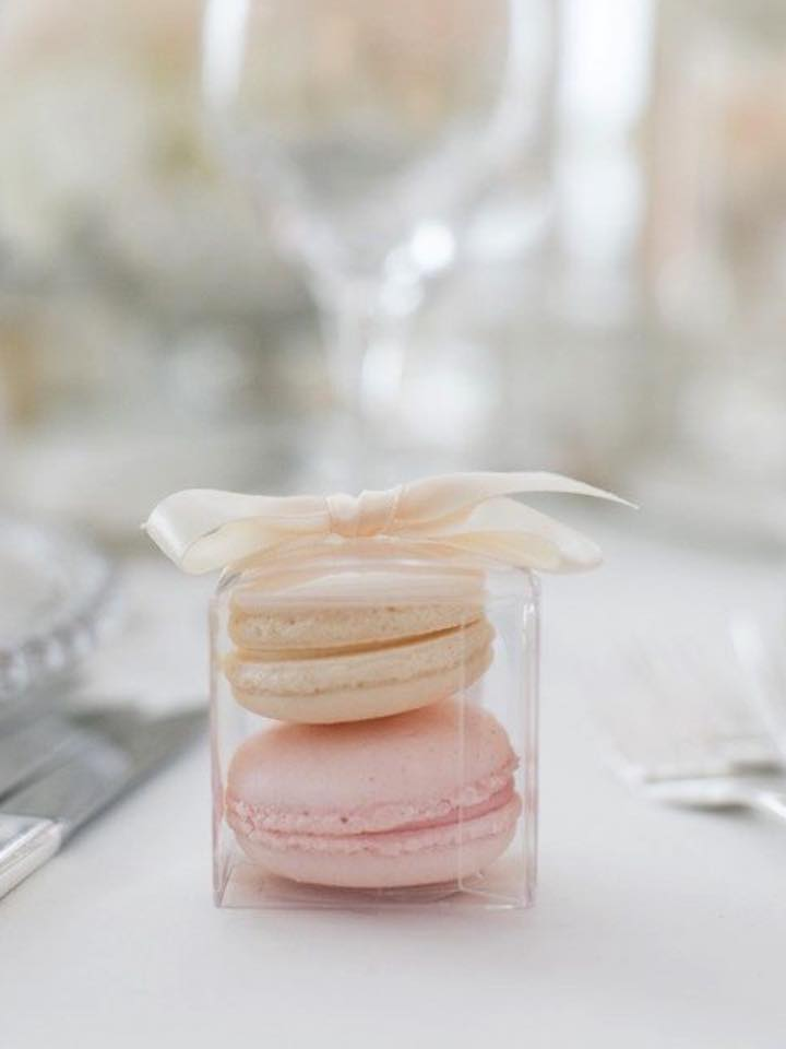 Macaron Wedding Favours Luscious Lovelies Cakes