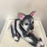 sitting-dog-bronze-award-novelty-birthday-cake