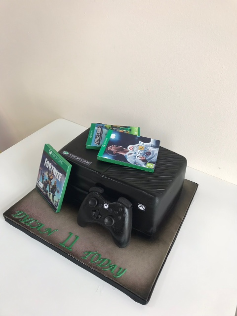 Collections Of Xbox 360 Birthday Cake